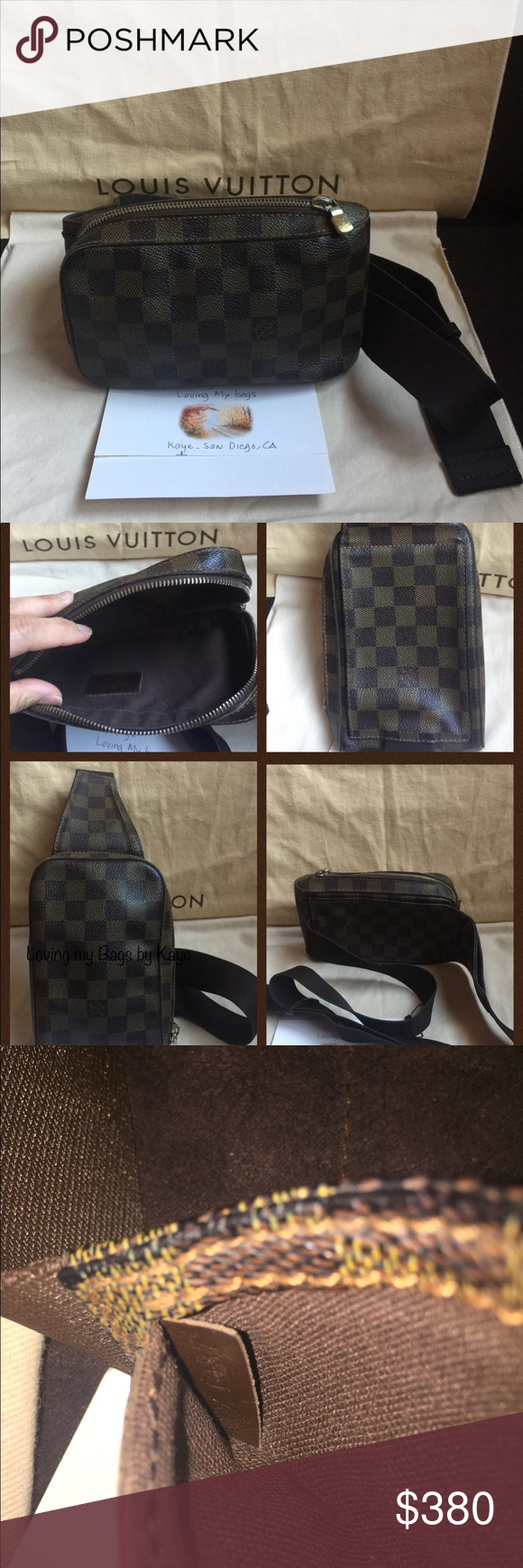 Sold Lv Geronimo Louis Vuitton Bag Small Crossbody Things To Sell