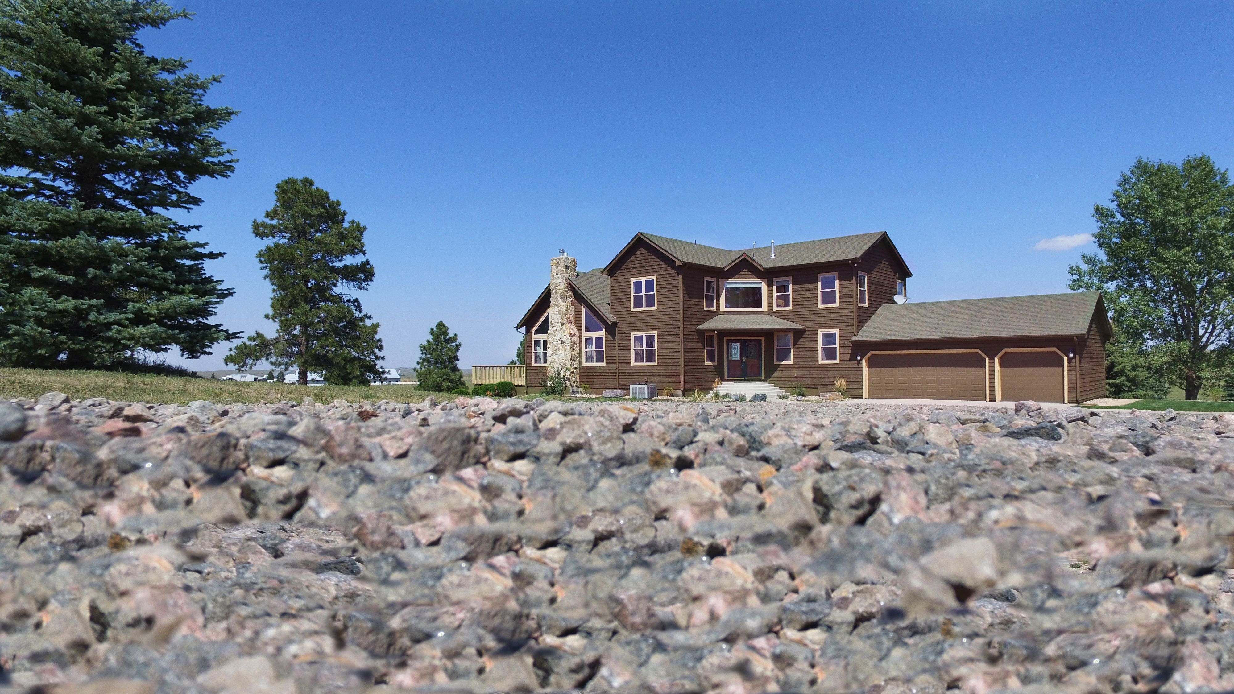 Beautiful home on 40 acres beautiful homes house styles