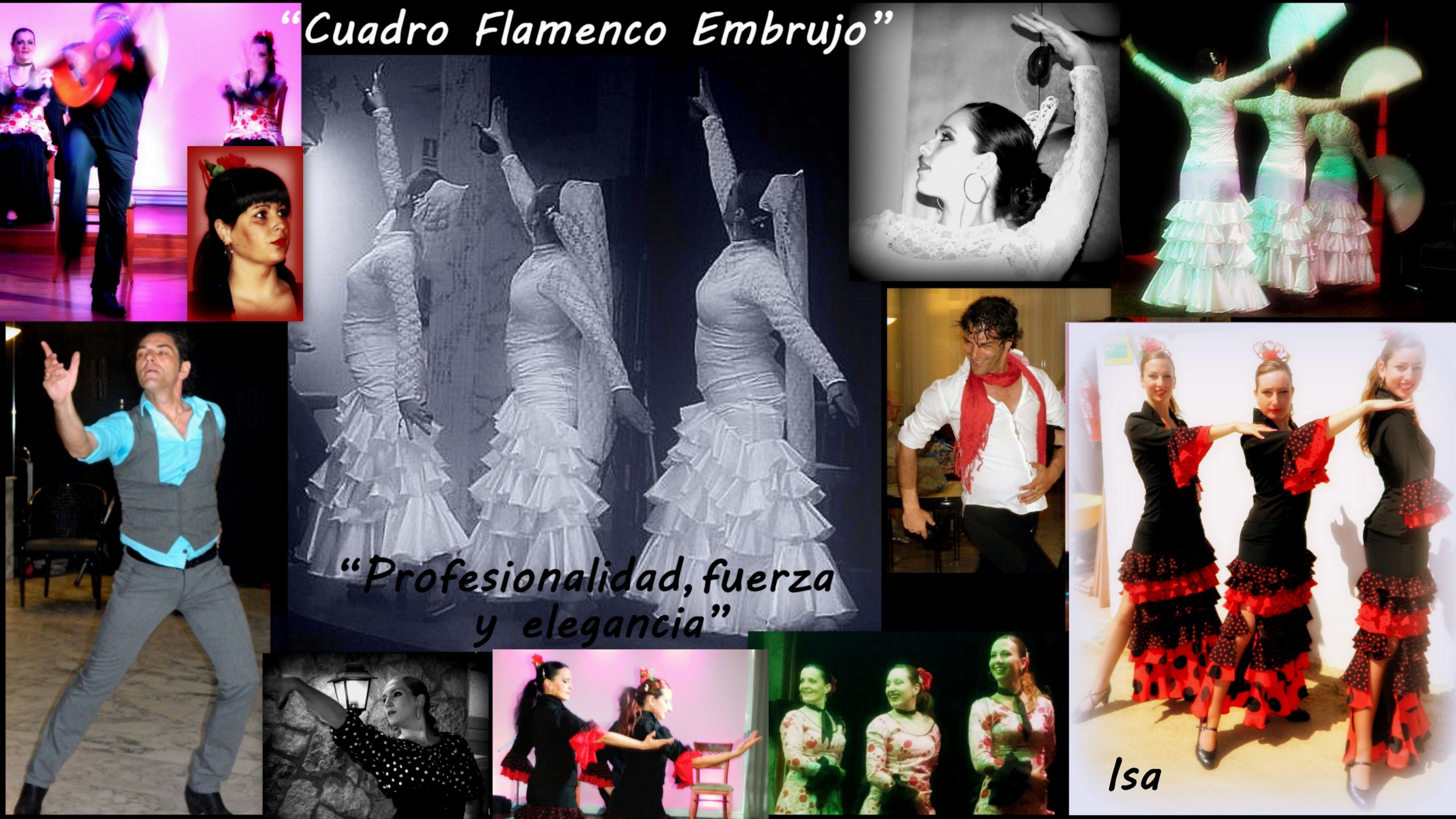 Cuadro Flamenco Embrujo