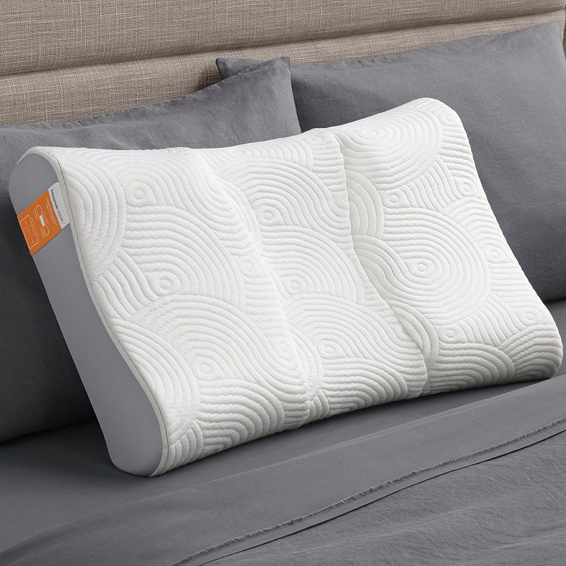 Tempur Pedic Contour Side To Back Memory Foam Pillow Bed Pillows Memory Foam Pillow Pillows