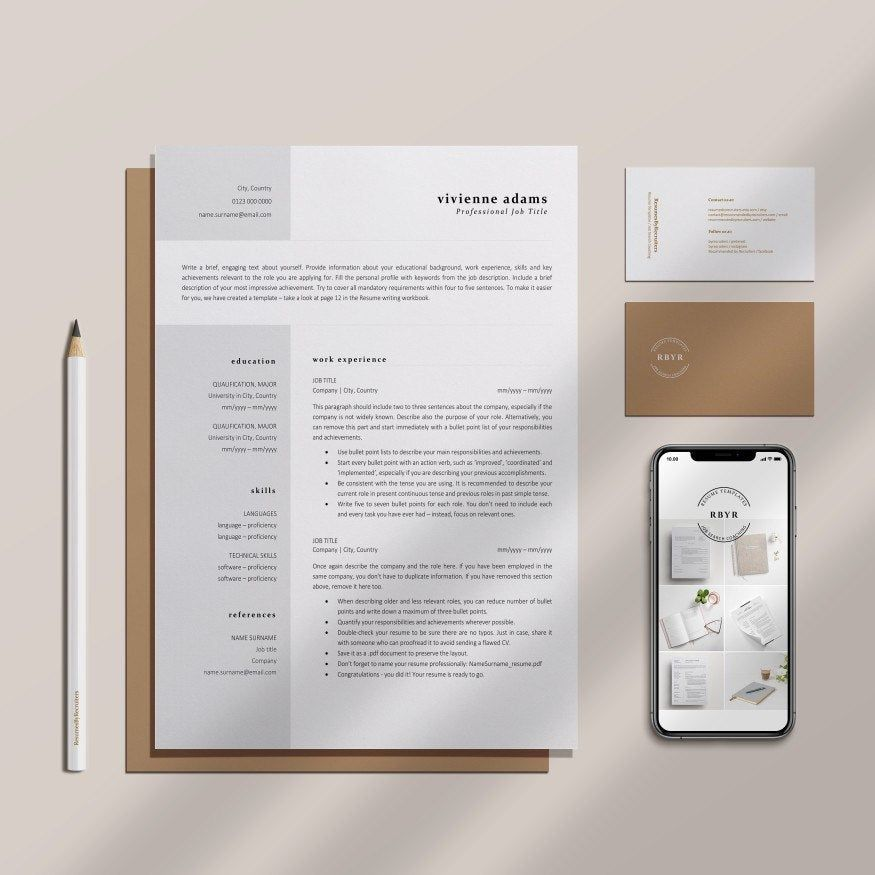ResumesByRecruiters shared a new photo on Etsy in 2020