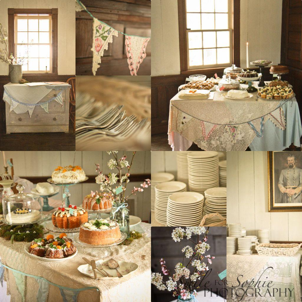 Table Decorations Civil War Wedding Bride Love Marriage