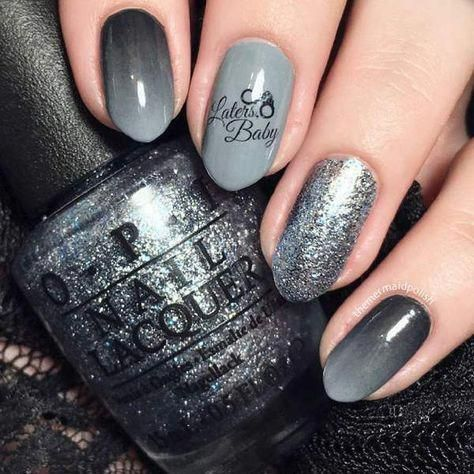 fifty shades of grey nail art water decals laters baby