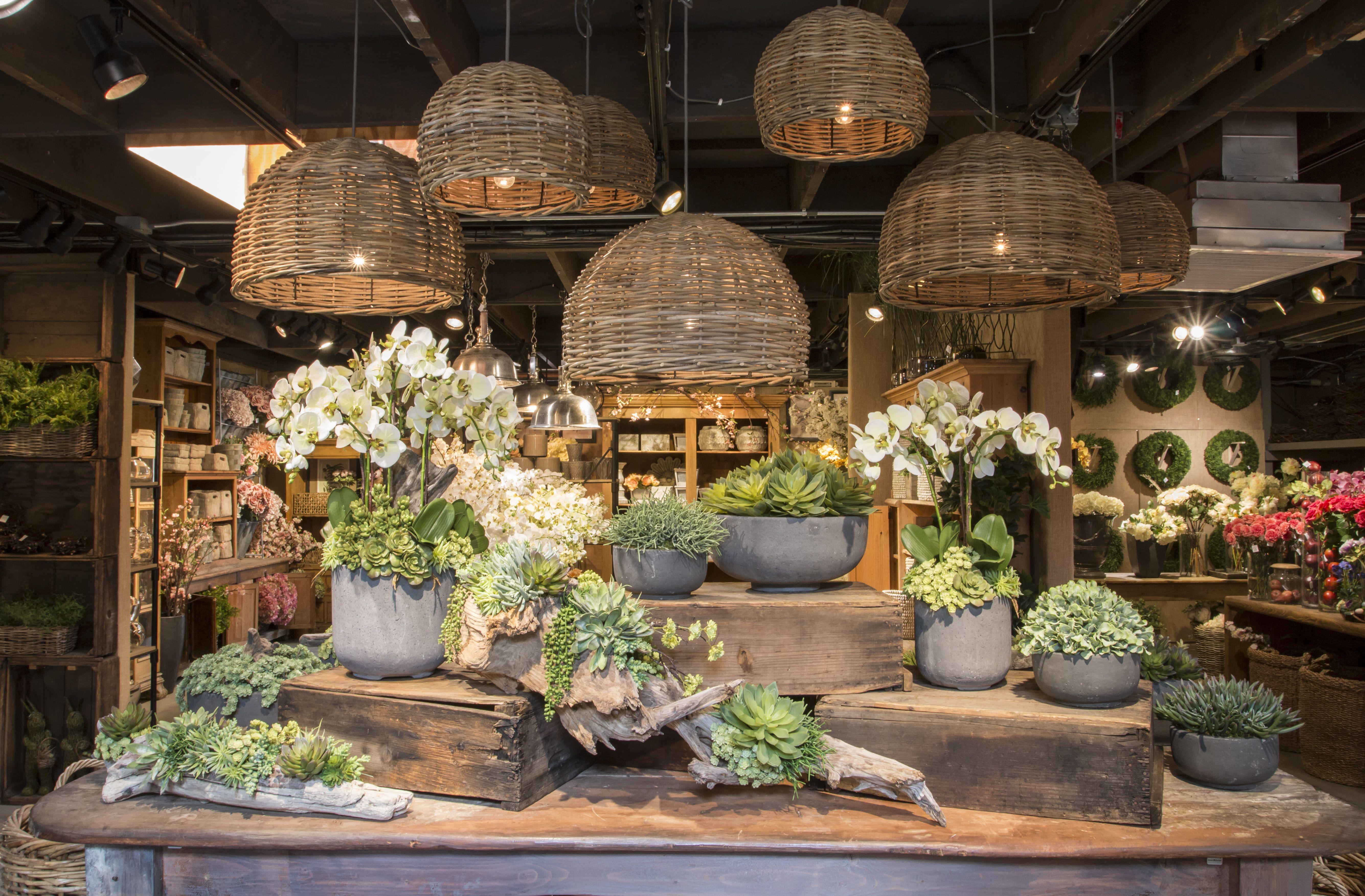 Spring 2016 Flower Shop Interiors Garden Center Displays