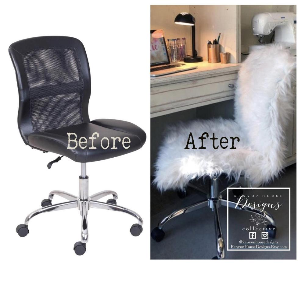 Faux Fur Chair Cover Slipcover Faux Fur Cover Fur Etsy In 2020 Chair Covers Slipcover Slipcovers Fur Chair