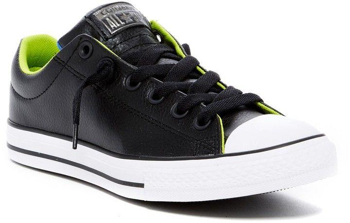 Converse Chuck Taylor All Star Street Slip-On Low-Top Sneaker (Little Kid 458d47c8e