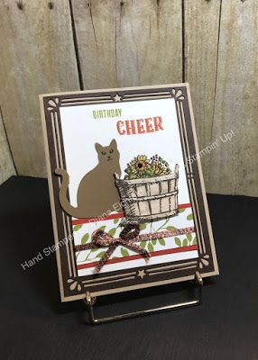 Remarkable Creations Blog Hop, 2017 Holiday Catalog, Cat Punch, Basket of Wishes, Tabs for Everything, Merry Café, birthday, #stampinup, #stampinfunwithdiana #spookybasketideas