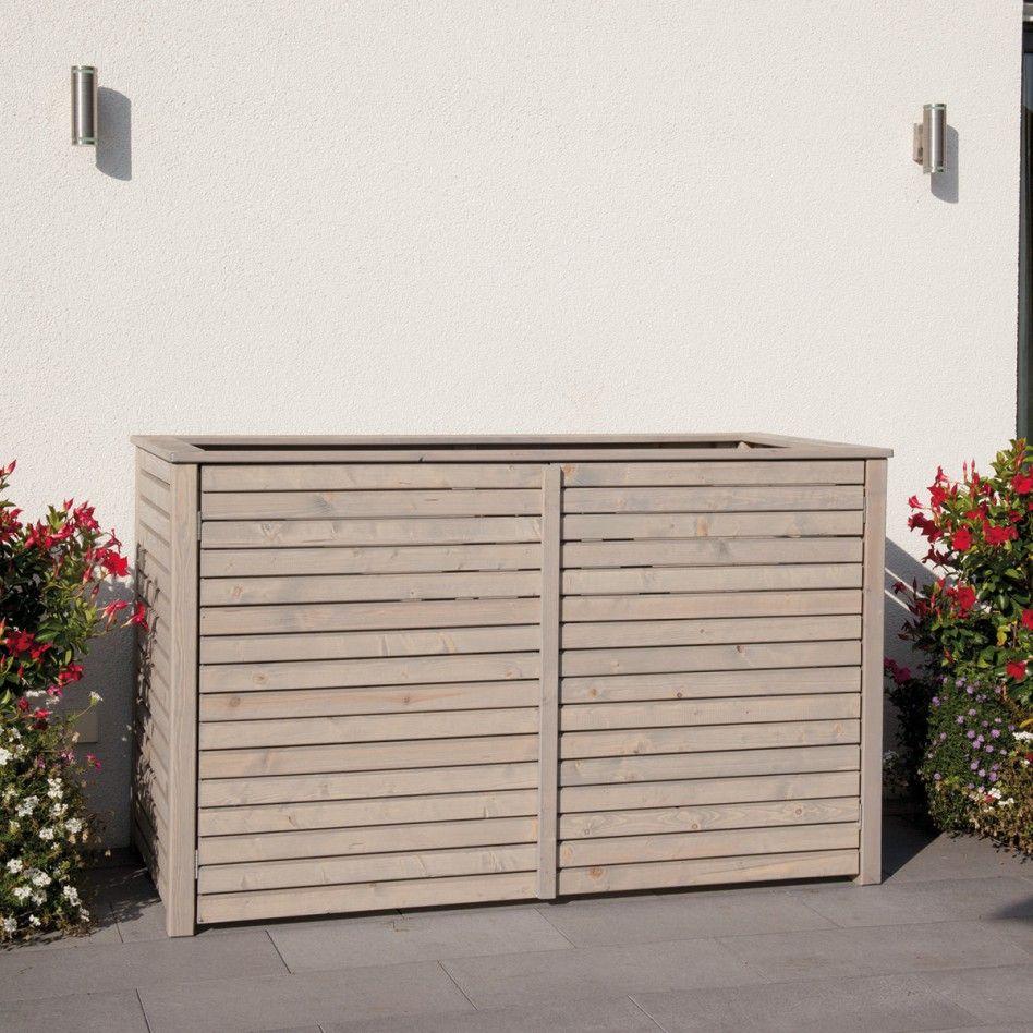 m lltonnenverkleidung rhombus f r 3 beh lter grau shopping casa pinterest. Black Bedroom Furniture Sets. Home Design Ideas