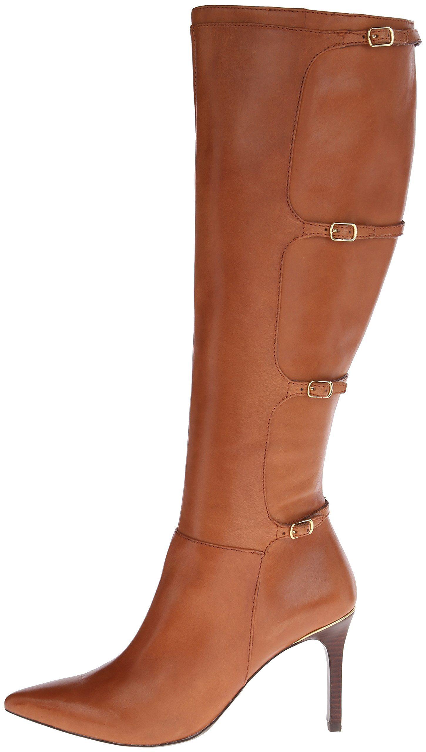Amazon.com: Lauren Ralph Lauren Women's Vallerie Western Boot: Clothing