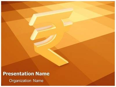 TheTemplateWizard presents professionally designed Indian Rupee 3D - 3d powerpoint template