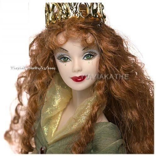 NIB BARBIE DOLL 2004 DOLLS OF THE WORLD LEGENDS OF IRELAND FAERIE QUEEN #Dolls
