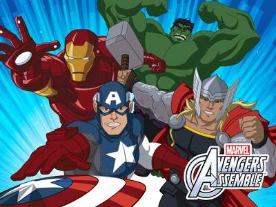 Marvel's Avengers Assemble Serie Completa Latino por Mega
