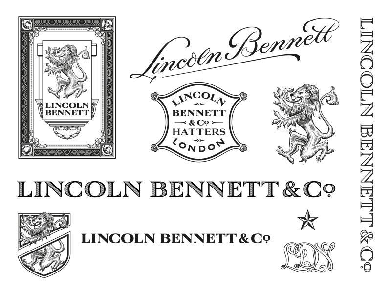 Lincoln Bennett Branding Full