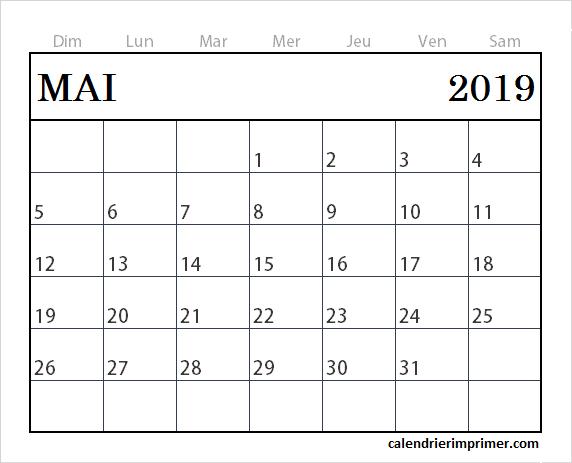 Calendrier Mai 2019 A Imprimer Gratuit.Gratuit Calendrier Mai 2019 A Imprimer Calendrier Novembre