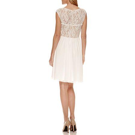 Scarlett Sleeveless Fit & Flare Dress #rosaspitzenkleider