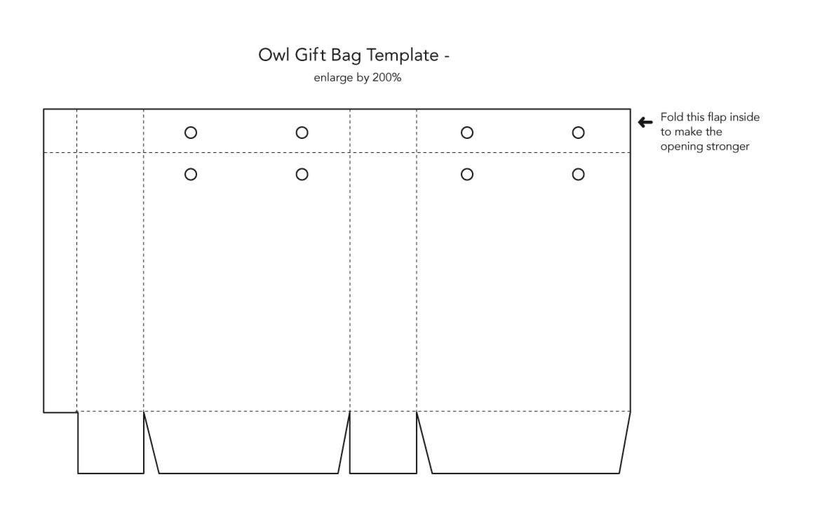 standard paper bag printing size google search design