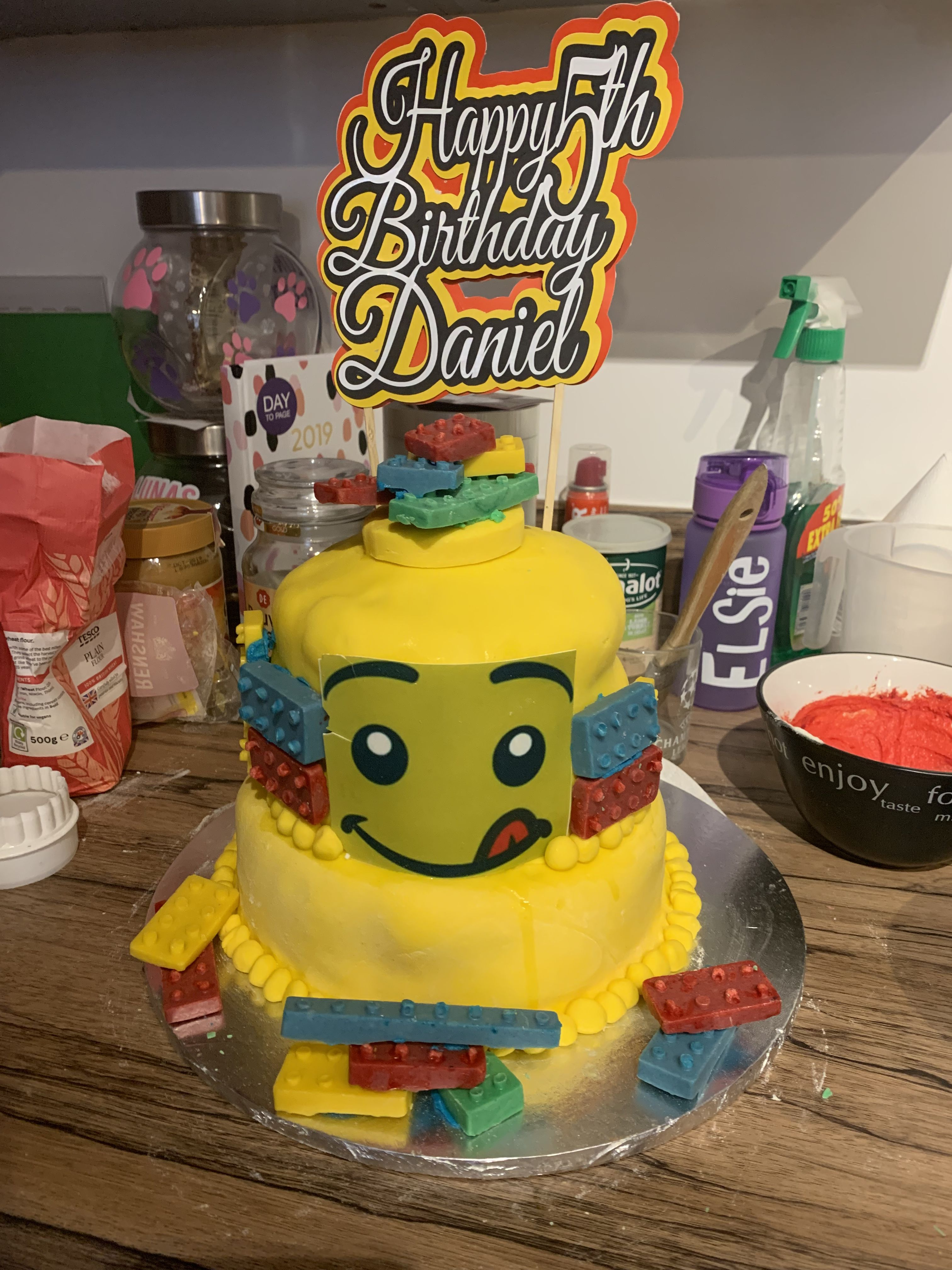 Nicer pic of cake - excuse the background | Cake, Birthday party themes, Birthday  cake