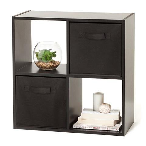 Buy Argos Home Squares Plus 16 Cube Storage Unit Black Bookcases And Shelving Argos Cube Storage Unit Cube Storage Argos Home