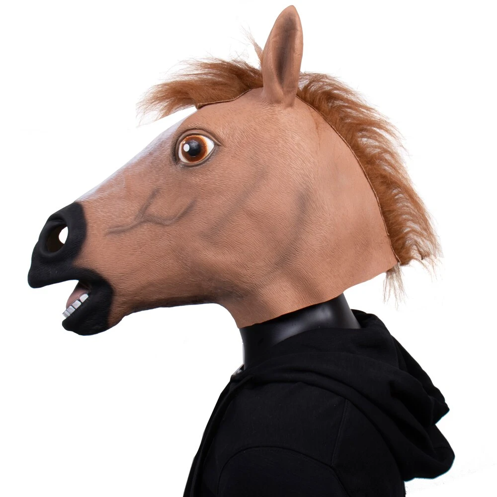 Pin On Horse Head Mask