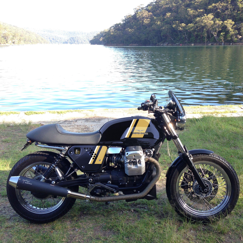 moto guzzi v7 classic mock up moto guzzi pinterest. Black Bedroom Furniture Sets. Home Design Ideas