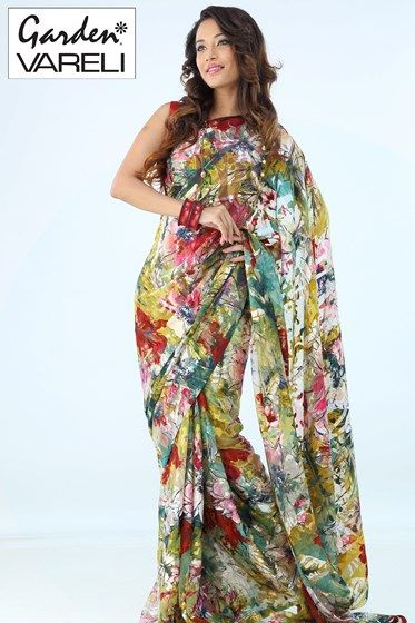 Online Efflorescence Saree Gardenvareli Com For Rs 1 742