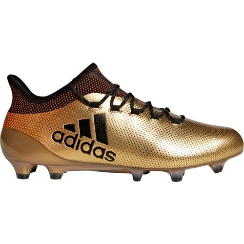 c3104492e Adidas Men's X 17.1 FG Soccer Shoes (Gold/Black, Size 11.5) - Adult Soccer  Shoes at Academy Sports