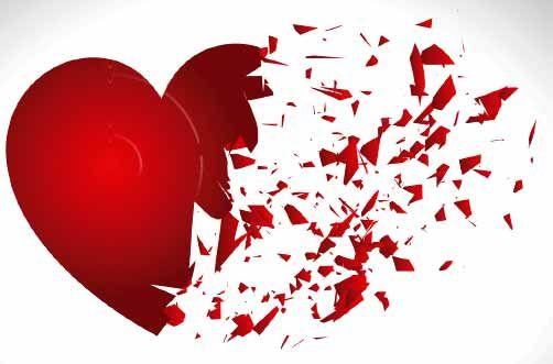 Resultado de imagen de corazon roto