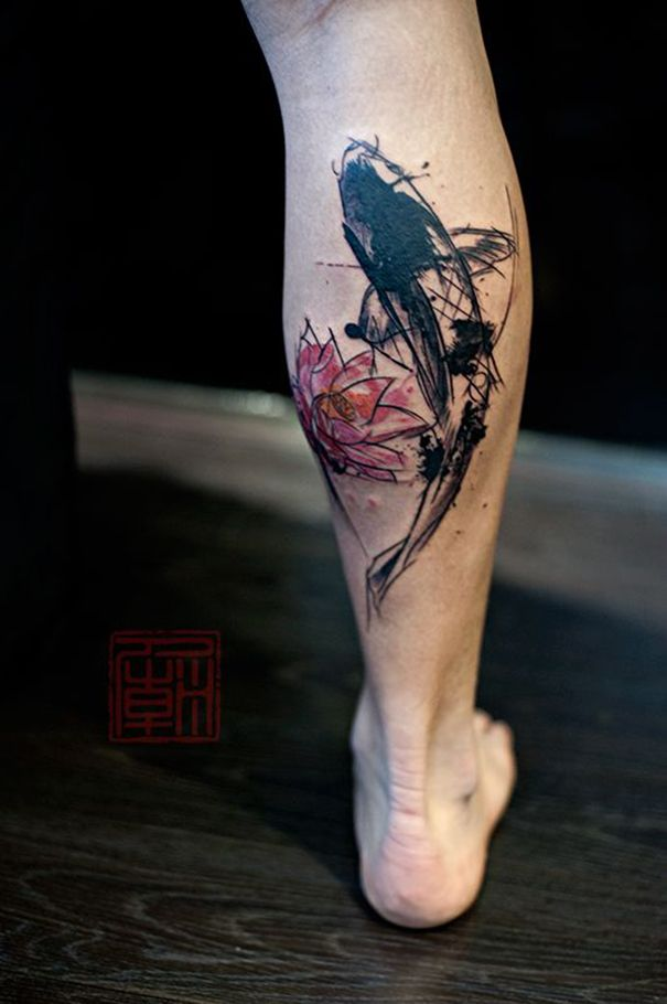 koi fish tattoo on foot koi fish tattoo ideas pinterest koi fish tattoo fish tattoos and koi. Black Bedroom Furniture Sets. Home Design Ideas