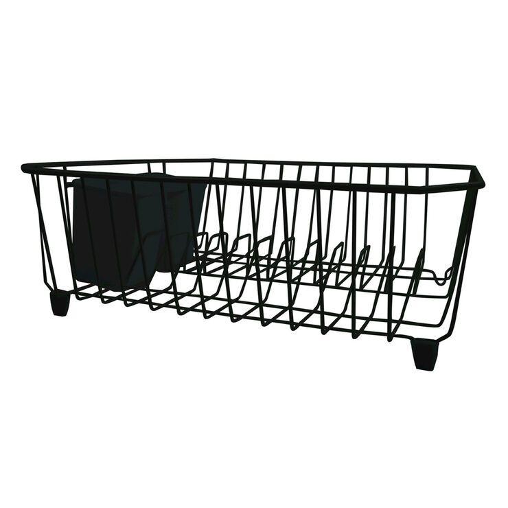 Wire Dish Rack - Black