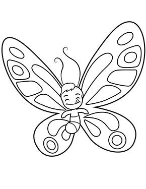 Ausmalbild Susser Schmetterling Malvorlagen Fur Jugendliche Wenn Du Mal Buch Malbuch Vorlagen