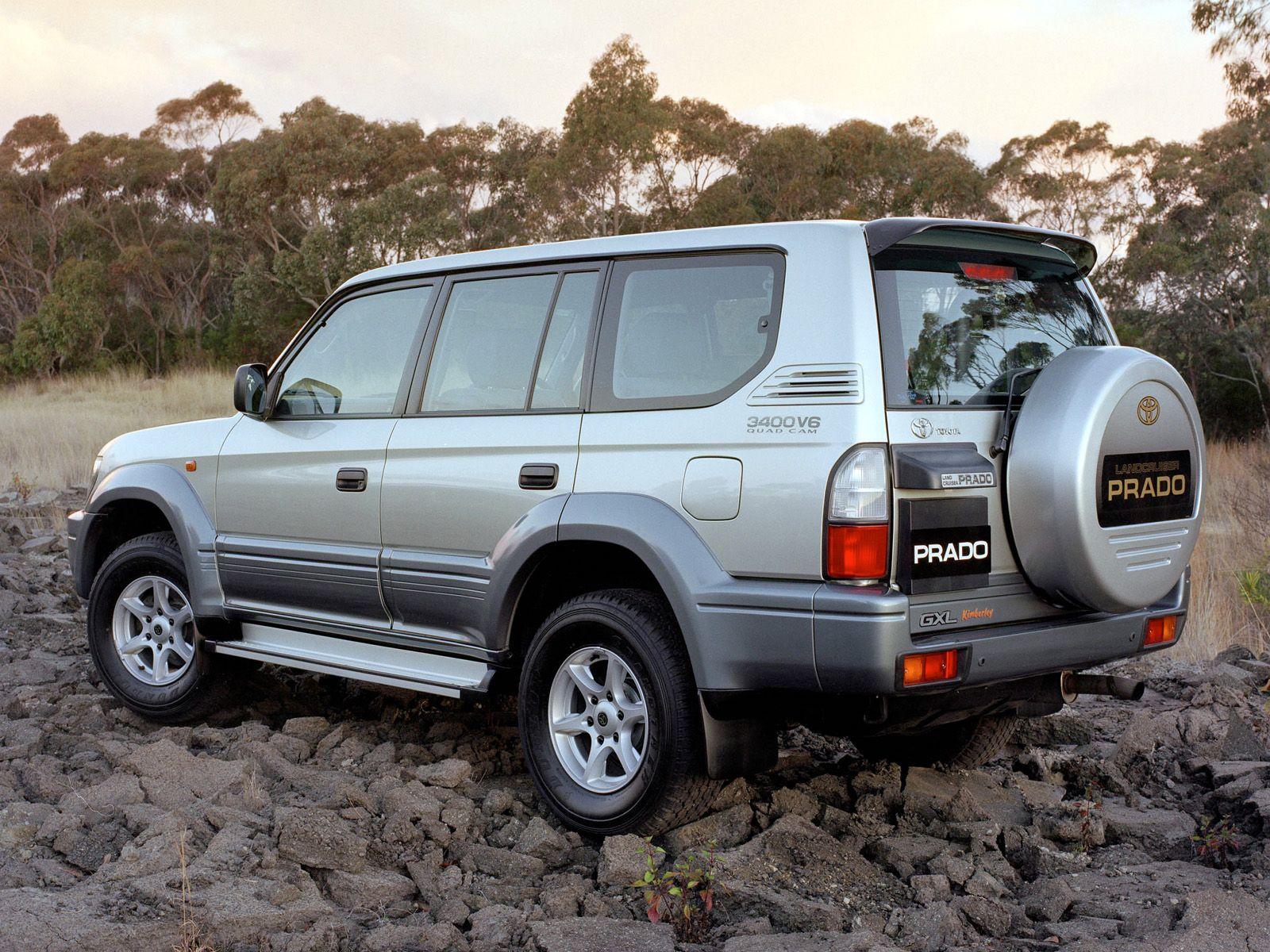 Toyota land cruiser prado 5 door kimberley edition j95w 2000