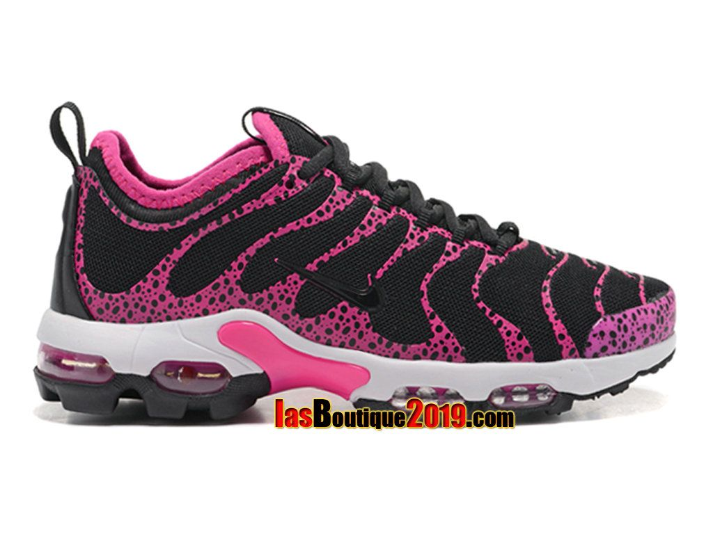 sports shoes f5d78 9fd49 Nike Air Max Plus TN Ultra Black Pink White 881560-439 Chaussure Nike  Officiel Pas