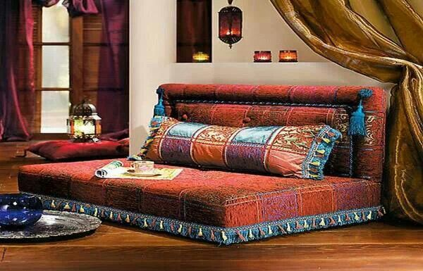 Turkish Style Bed Or Couch Floor Seating Living Room Indian Living Rooms Home Decor
