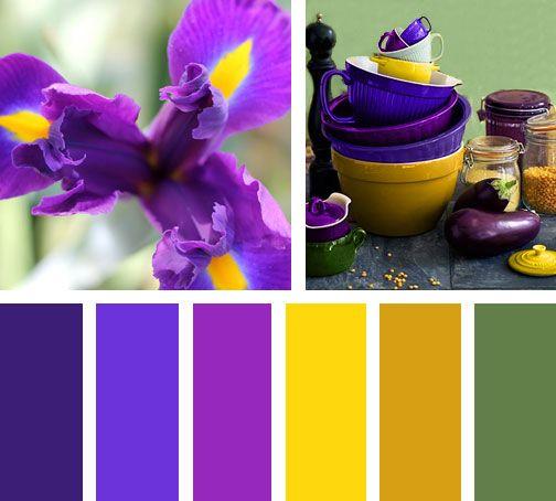 11+ Colores que combinan con morado ideas