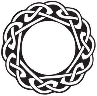 Exact Scale Images For Laser Engraving Celtic Circle Celtic Tattoos Celtic Knot Tattoo