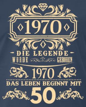 Geburtstag 1970 mit 50 beginnt das Leben in 2020 | 50
