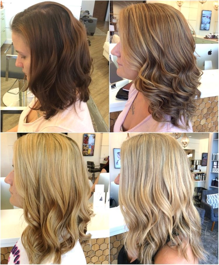 The Truth About Going Blonde Brunette To Blonde Going Blonde
