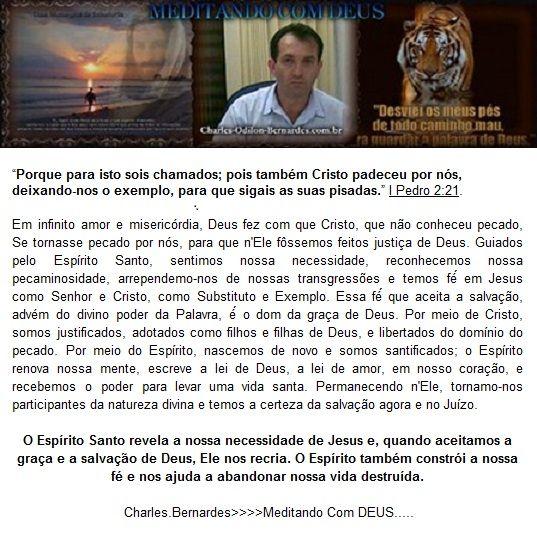CERTEZA DA SALVAÇÃO :: Charles-Odilon-Bernardes