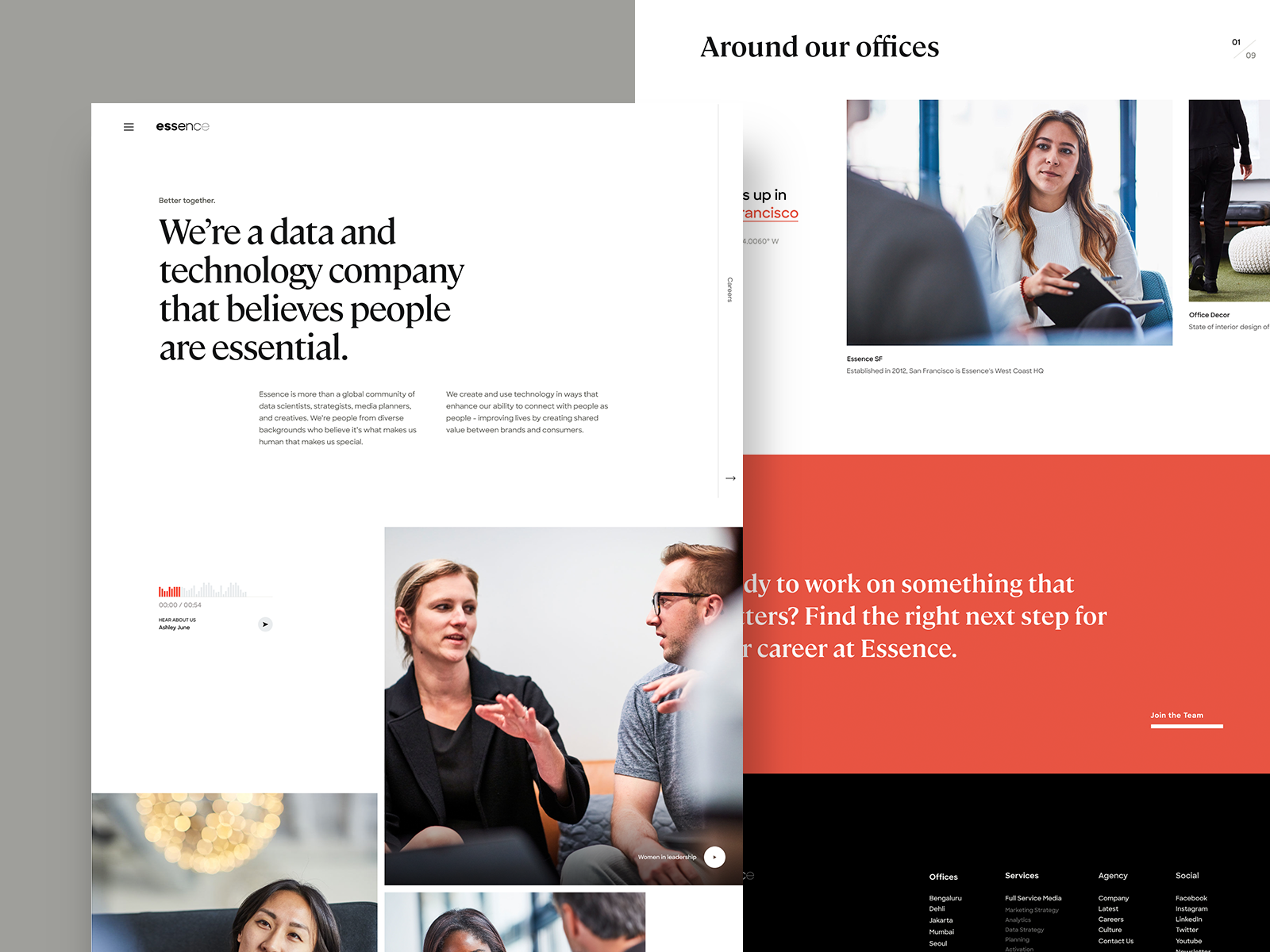 Essence Culture In 2020 Web Layout Design Web Inspiration Web Design