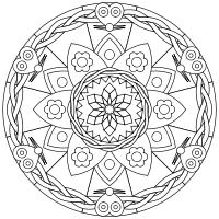 Print And Color Mandalas Online Mandala Coloring Pages Mandala Coloring Mandala Coloring Books