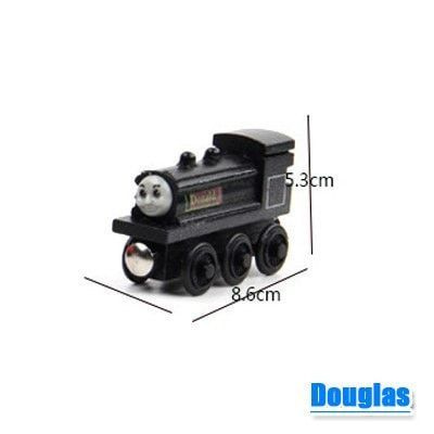 Magnetic Thomas and friends Wooden Model Train set
