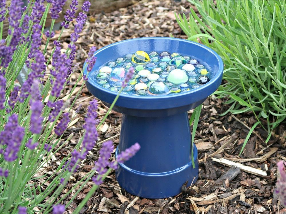 How to Make a Simple Bee Water Station for Your Garden | Water ...