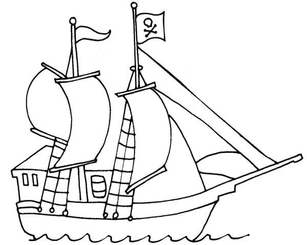 pirate ship template a free pirate ship template that you can print and use in your craft projects