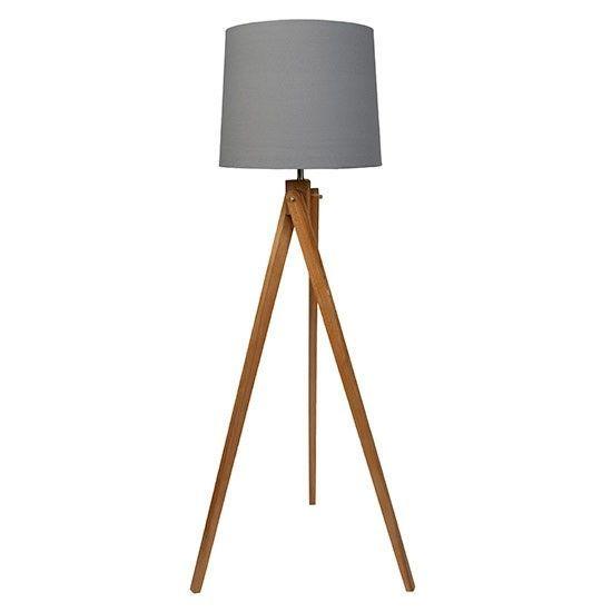 Wooden Tripod Floor Lamp From Sainsbury S Country Style Floor Lamps Li Http Cento Wooden Tripod Floor Lamp Lamps Living Room Floor Lamps Living Room
