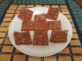 Mohanthal - Gujarati Sweet