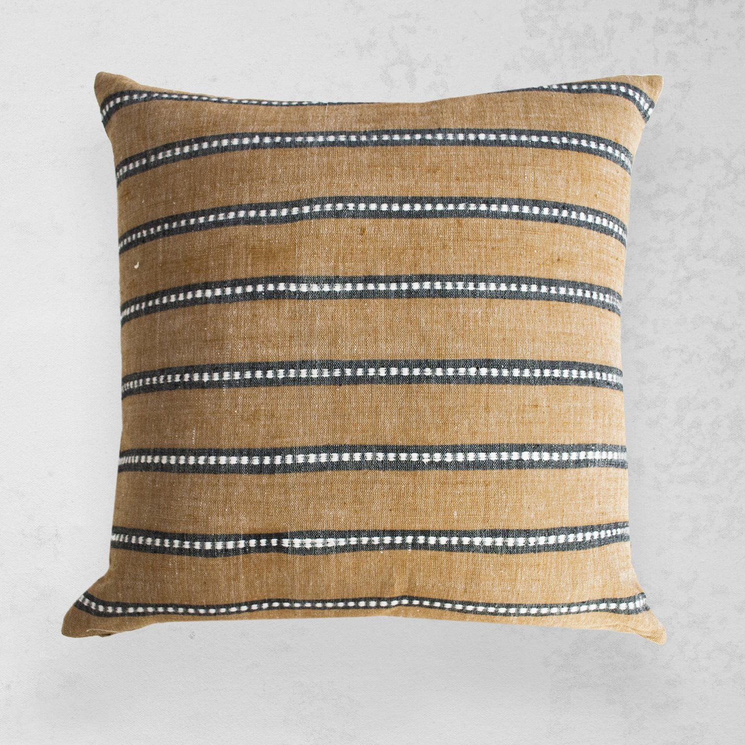 Kombolcha pillow tan homethingsprojects pillows textiles