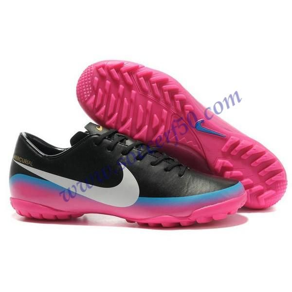 29a16614ba68 Cheap Nike Mercurial Victory VIII CR7 III TF Black Pink White For Wholesale