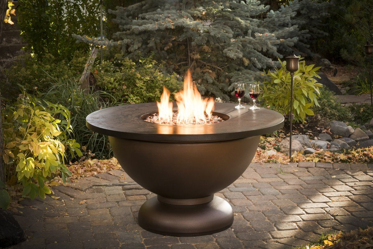 Penny Steel Propane Fire Pit Table With Images Propane Fire Pit Table Fire Pit Bowl Fire Pit