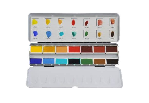 Aquarellkasten 1 Von Kremer Pigmente Aquarellfarben Farben