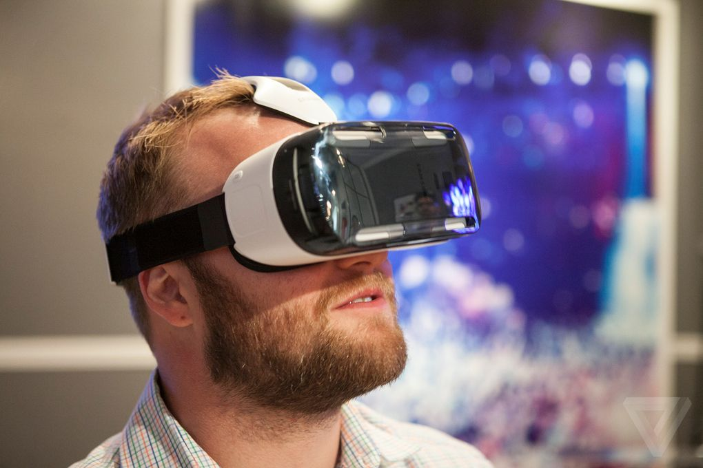 9dc0f5301fa25 Samsung s Gear VR is a portable Oculus Rift for the Galaxy Note 4   Vr,  Galaxy note and Virtual reality